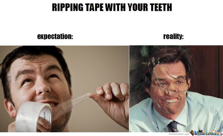 Ripping your teeth expectations vs reality