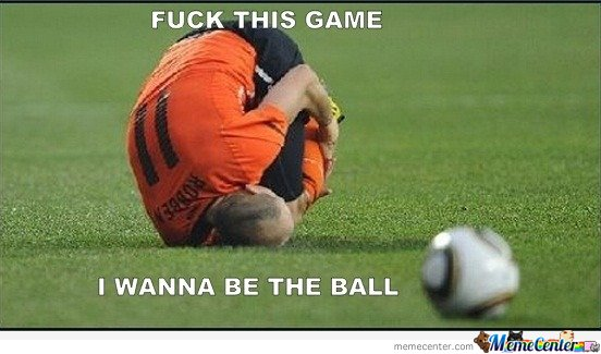 Robben - I wanna be the ball