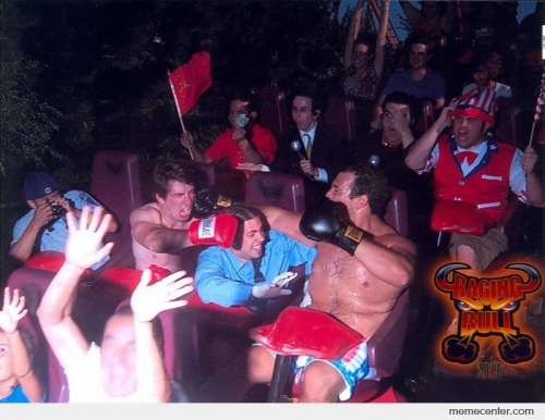 Roller Coaster Boxing