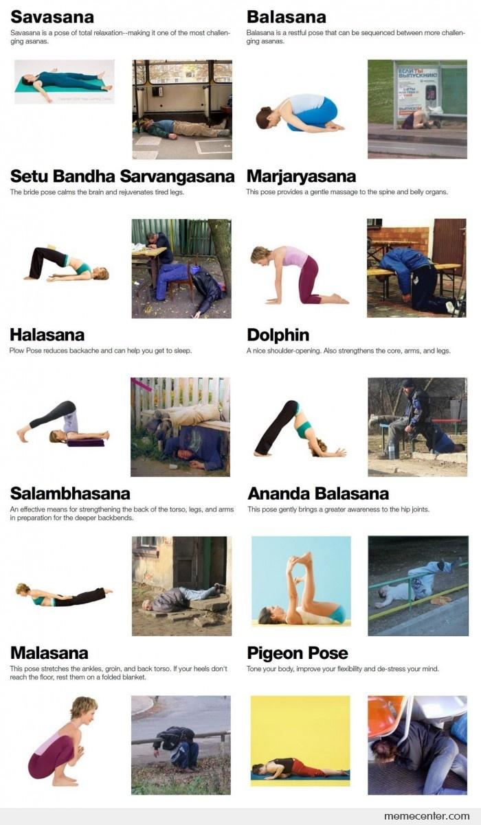 Irish yoga poses