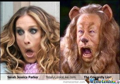Sarrah Jessica Parker And The Cowardly Lion