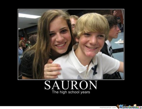 Sauron The Highschool Years