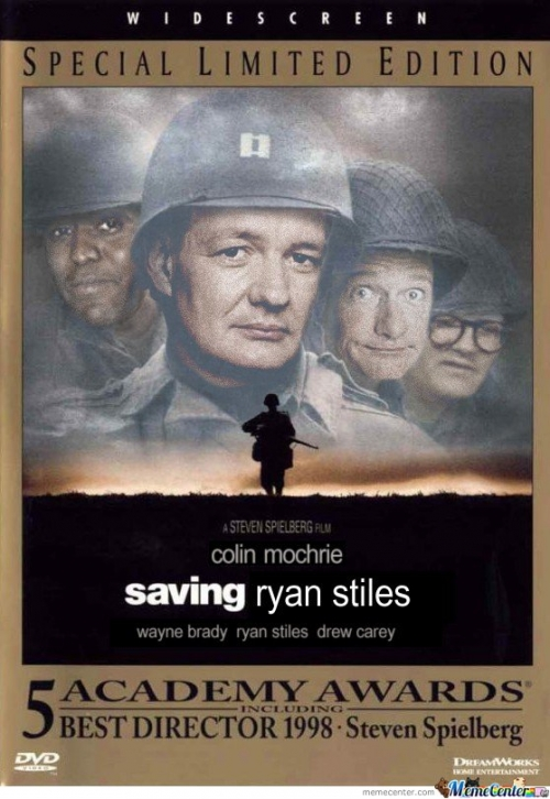 Saving Ryan Stiles