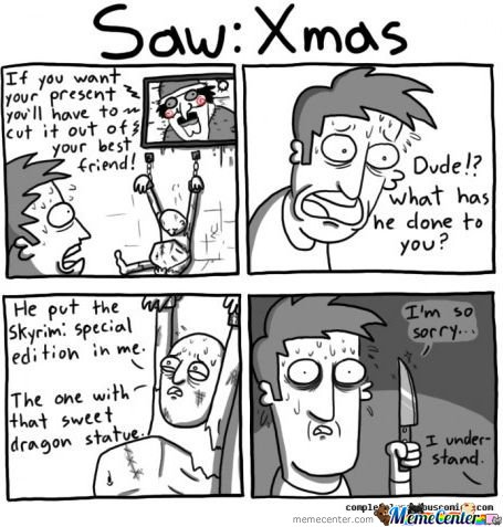 Saw : Xmas - Skyrim Comic