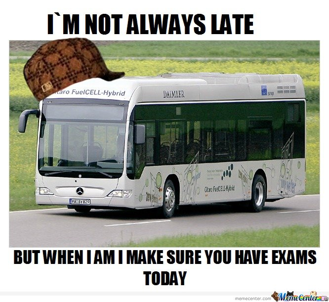 Scumbag School Bus