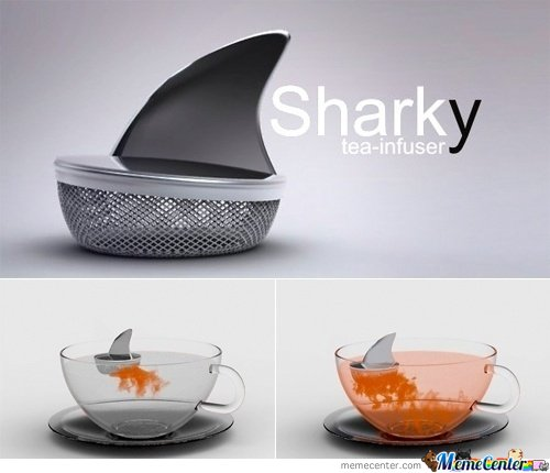 Sharky Tea-Infuser