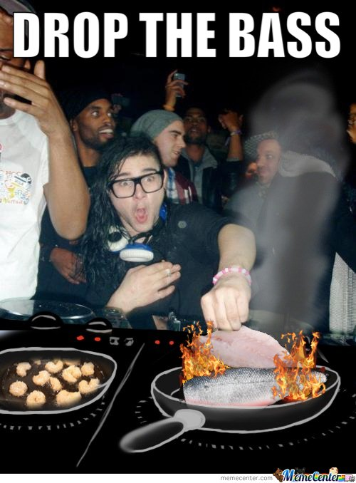 Skrillex Cooking