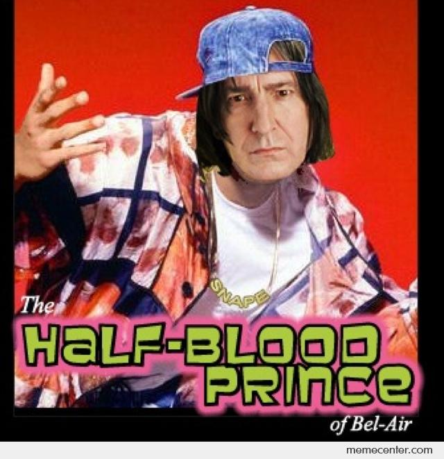 Snape The Half Blood Prince