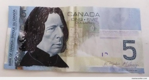Snape on Canadian Dollar