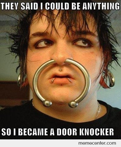 So I Became a Door Knocker
