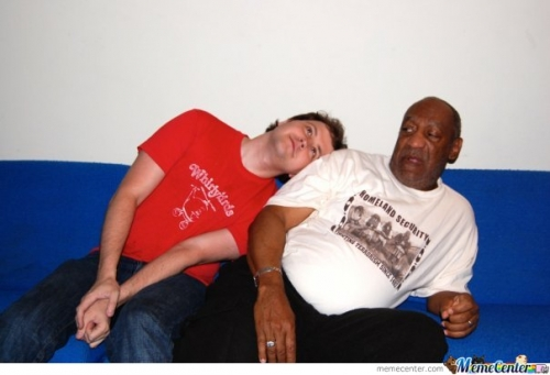 So my friend met Bill Cosby
