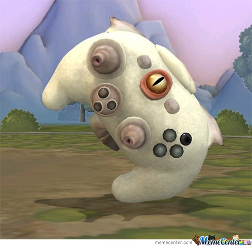 Some people have better things to do than create d***s. Check out this awesome Spore 360 controller.