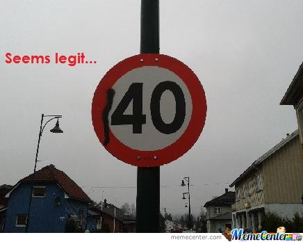 Speed Limit 140