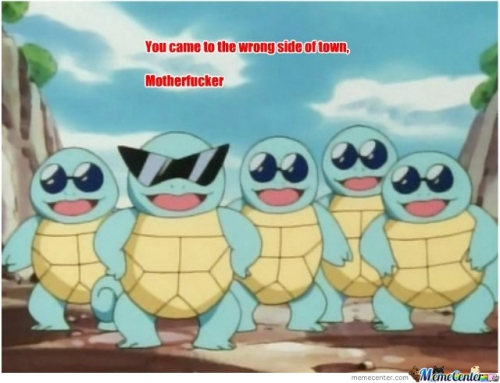 Squirtle Gangsters