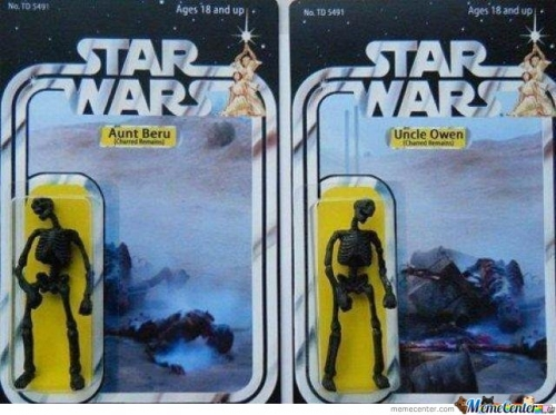 Star wars- Aunt Beru & Uncle Owen
