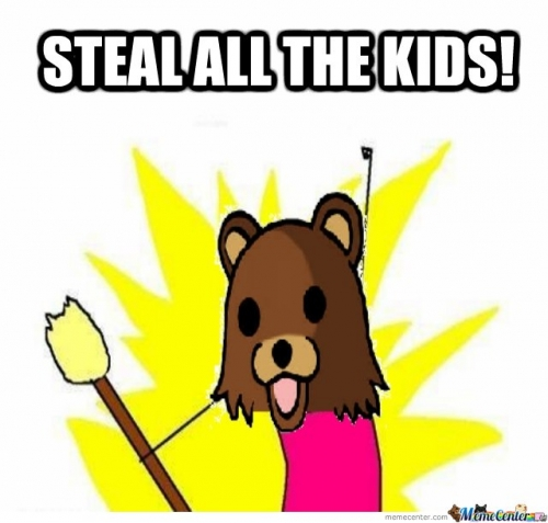 Steal all the kids!