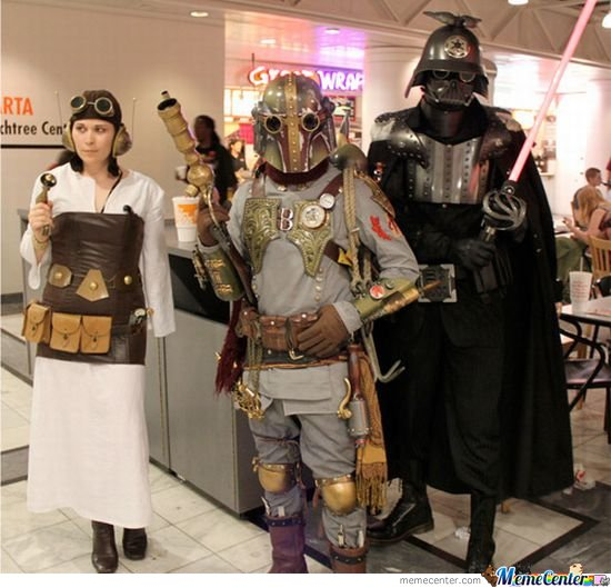Steampunk Star Wars Cosplay