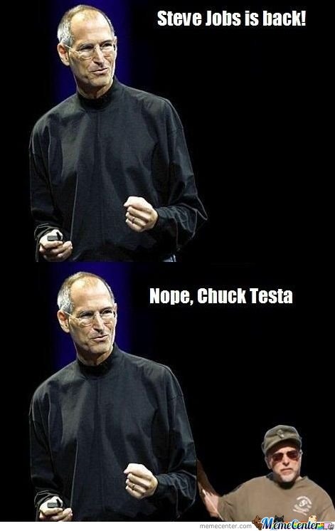 Steve Jobs is Back