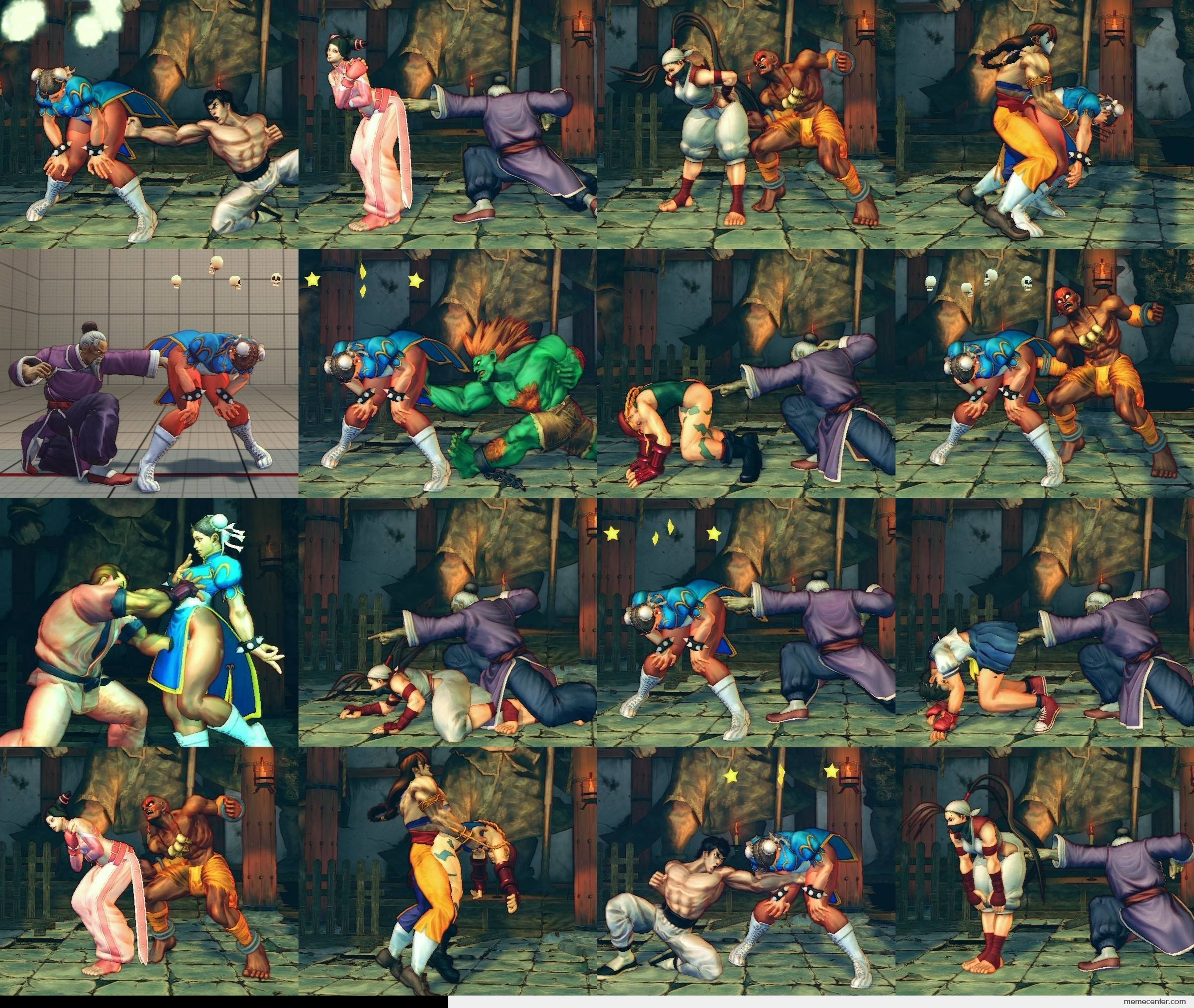 Street Fighter Kamasutra