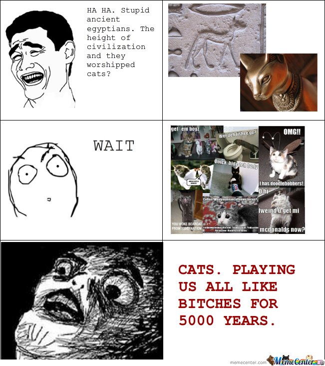 Stupid Ancient Egyptians