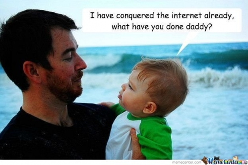 Success Kid & His Daddy