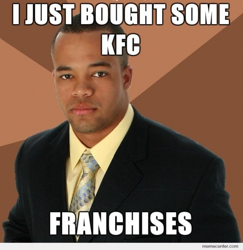 Successful Black Man Bought Some KFC