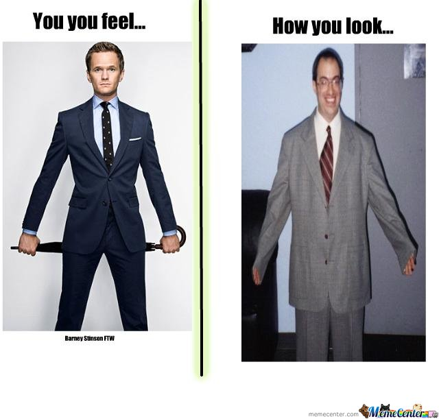 Here we can see an image of the comparison of suits