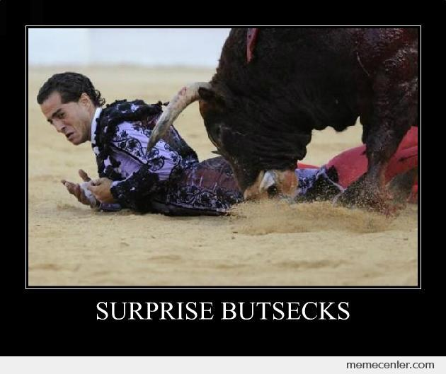 Surprise Butsecks