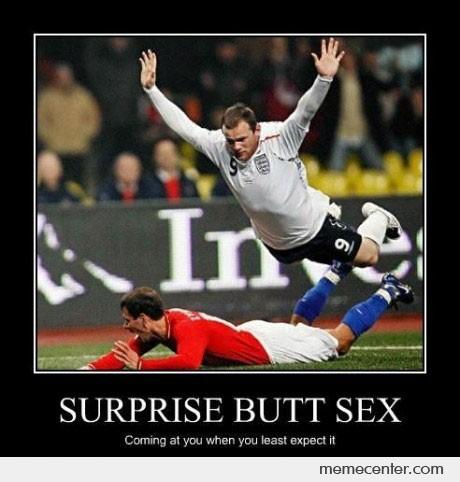 Surprise Butt Sex