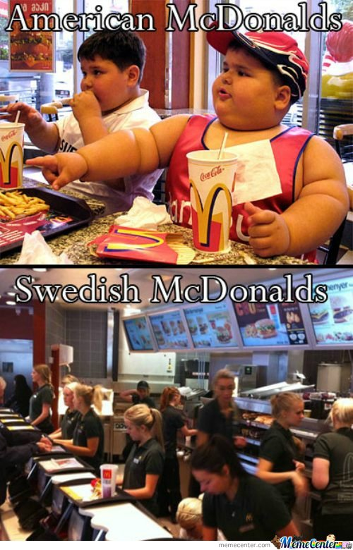 Swedish macdonalds