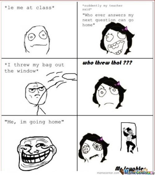 Teacher, you just got trolled