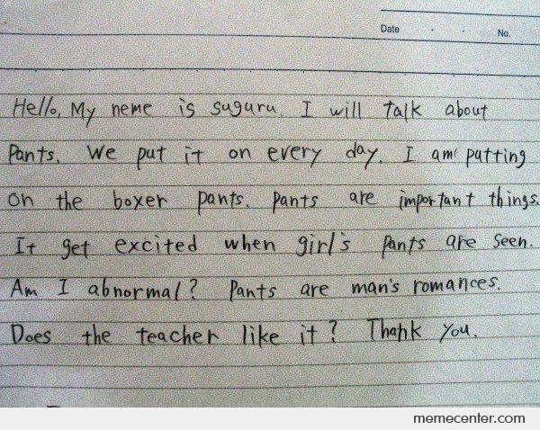 Essay my favorite teacher english