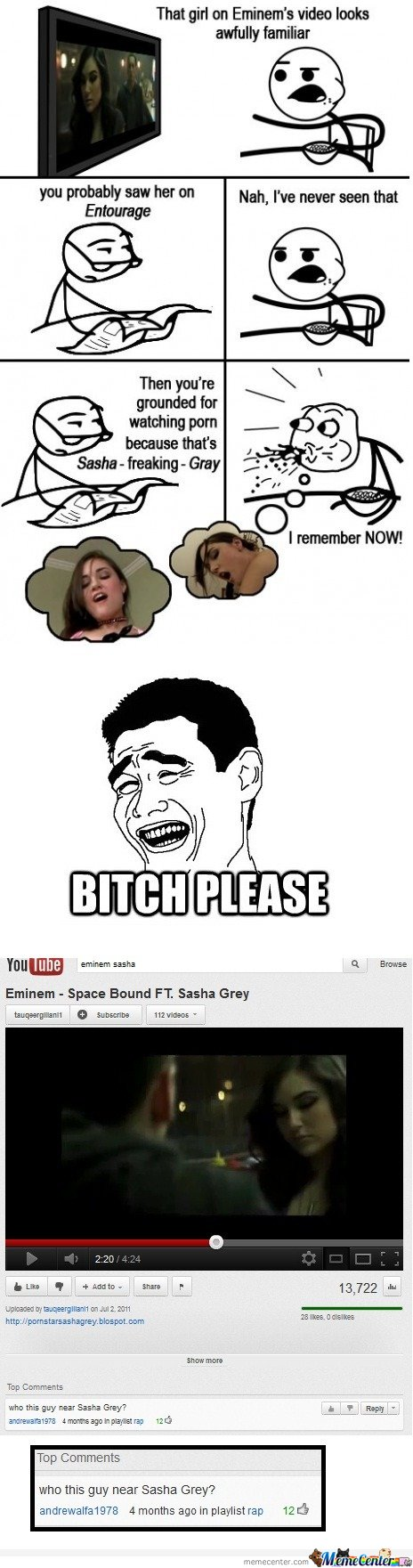 That girl on Eminem's video looks familiar -Cereal Guy - Remixed