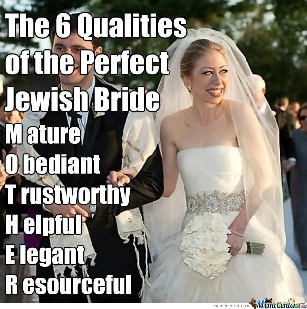 The 6 Qualities Of The Perfect Jewish Bride