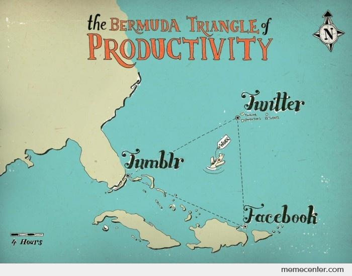 The Bermuda Triangle of Productivity