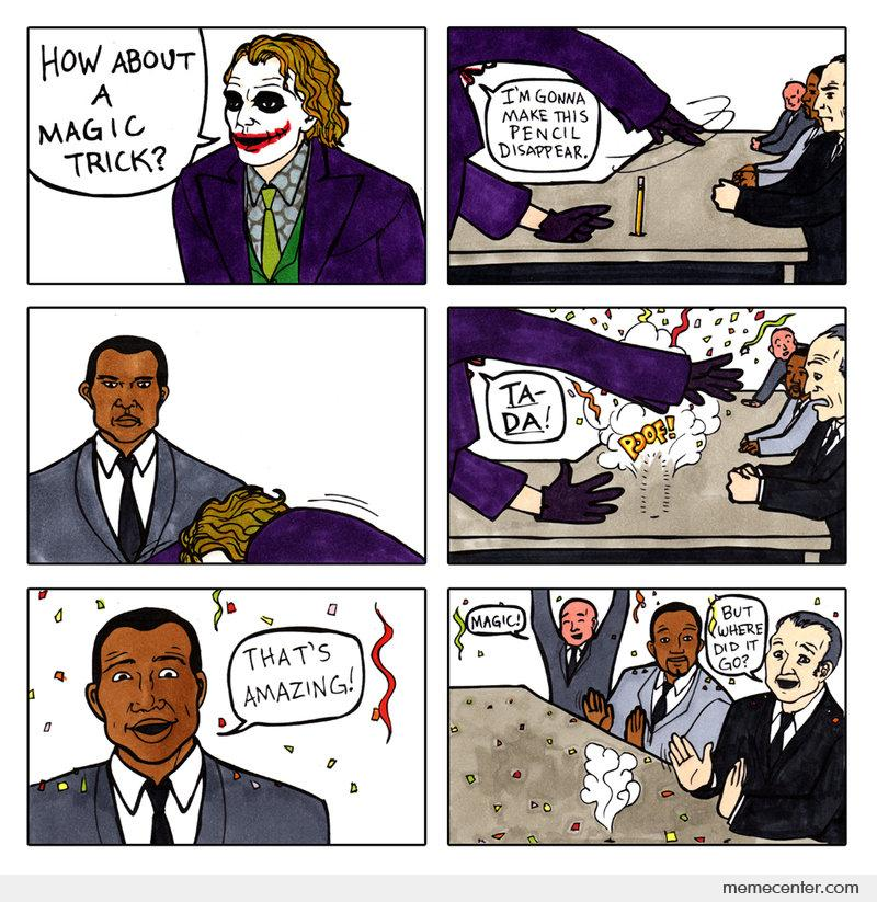 The Dark Knight Alternate Story