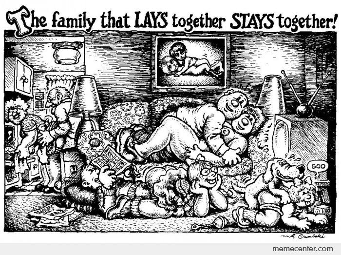 The Family that LAYS together STAYS together