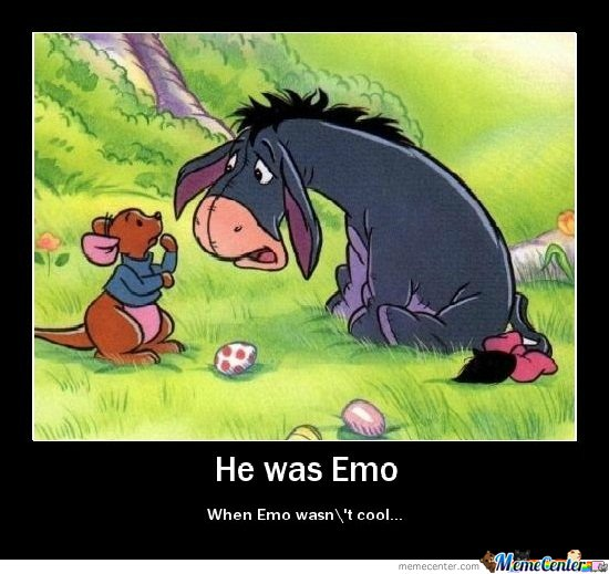 The First Emo Ever