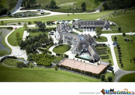 The Guy Who Owns MegaUpload House