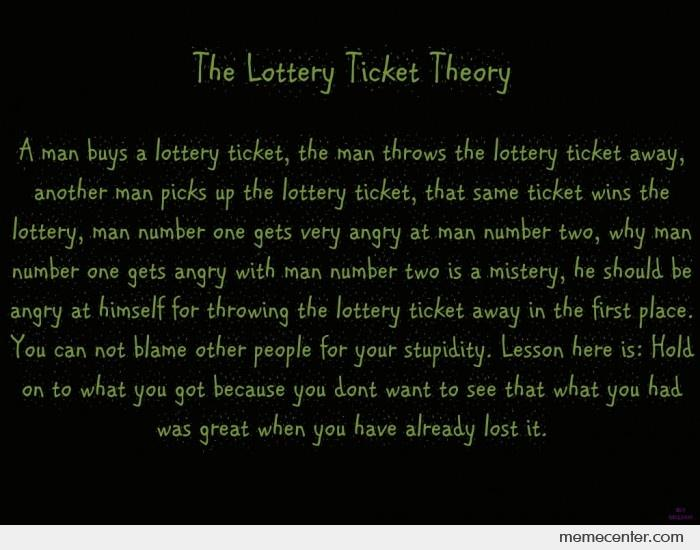 The Lottery Ticket Theory