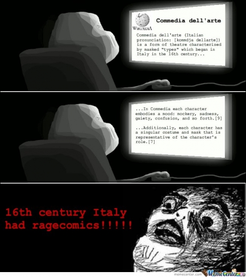 The Origins Of Rage Comics