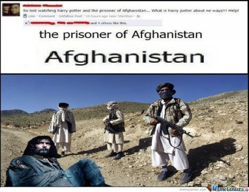 The prisoner of Afghanistan