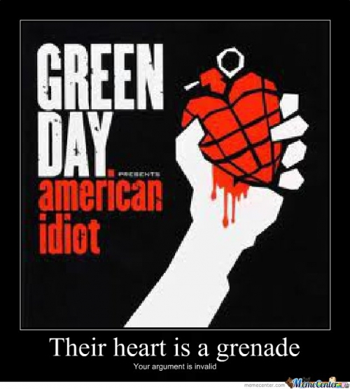 Their heart is a grenade