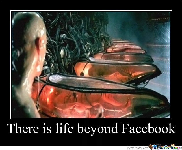 There is life beyond Facebook