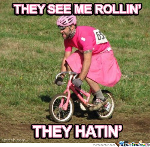 They see me rollin...