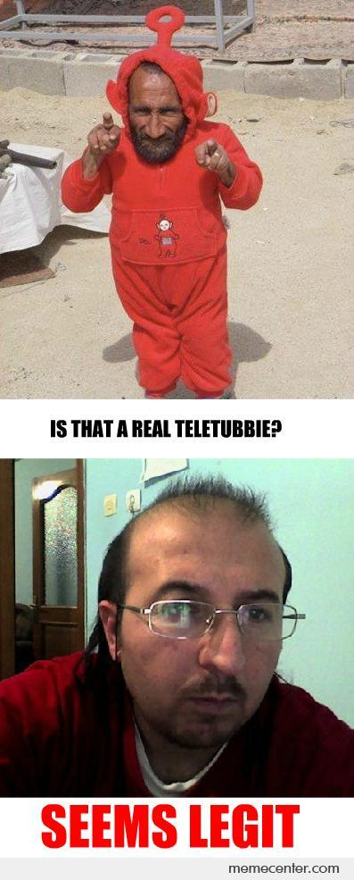 This Teletubbie Seems Legit