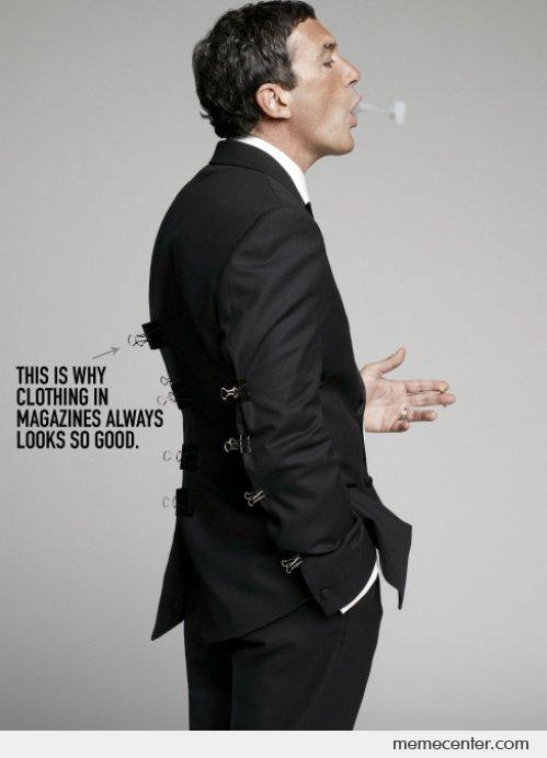 This is Why Suits in Magazines Looks so Awesome