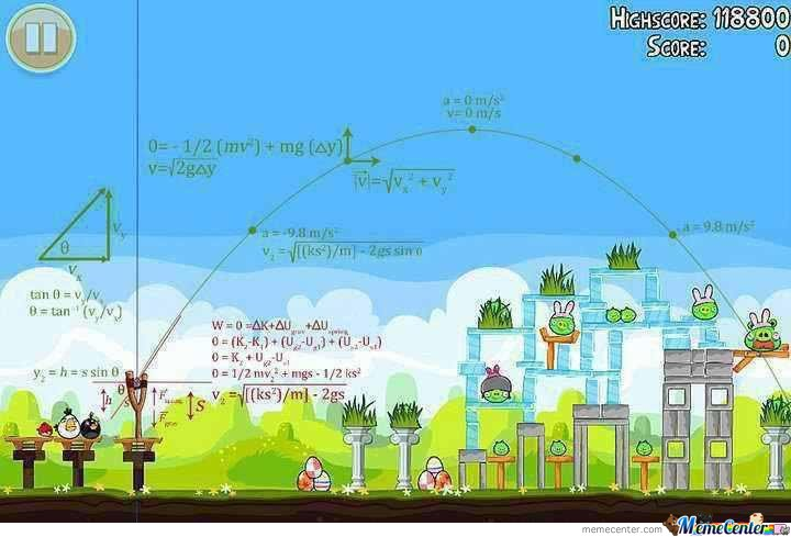 This is how ASIANS play Angry Birds