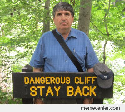 This is my dad. His name is Cliff