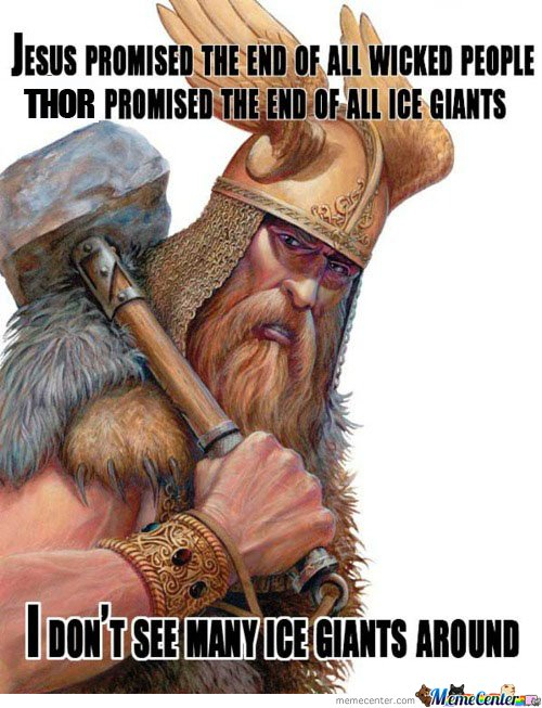 Thor Gets Shit Done